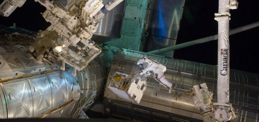 Una EVA per la sostituzione di un modulo pompa della ISS. Credit: NASA