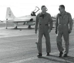 Deke Slayton e Neil Armstrong