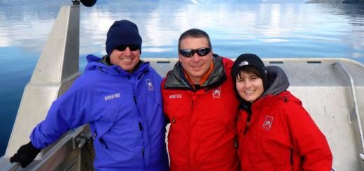Samantha Cristoforetti e alcuni compagni di equipaggio in una spedizione in Alaska nel 2012. Credit: Samantha Cristoforetti