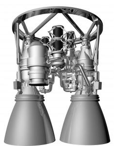 La configurazione prevista per il motore AR1 Credits: Aerojet Rocketdyne