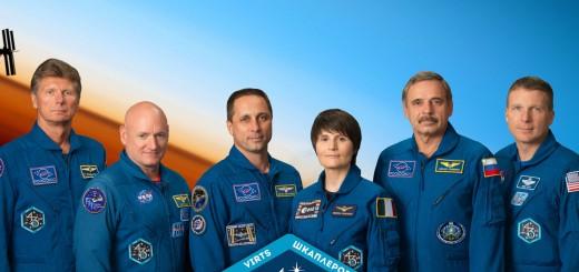 Il ritratto ufficiale NASA della Expedition 43 (particolare). Credit: NASA/Bill Stafford