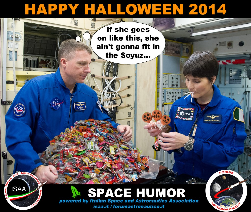Halloween 2014. Credit: Riccardo Rossi