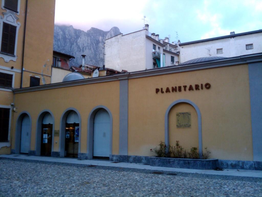 Il Planetario di Lecco, la sede di AstronautiCON. Credit: Paolo Amoroso