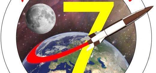 Il logo di AstronautiCON 7. Credit: Riccardo Rossi