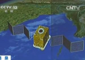 Rappresentazione pittorica di un satellite della serie Shijian-11 - Credit: CCTV