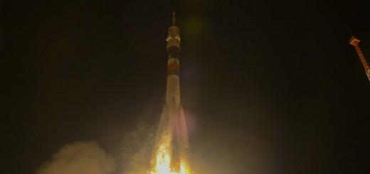 Il lancio della Soyuz TMA-15M. Credit: ESA–S. Corvaja, 2014