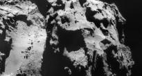La cometa 67P/Churyumov-Gerasimenko ripresa da Rosetta il 9 dicembre 2014