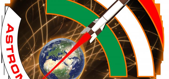 Il logo di AstronautiNEWS. credit: Riccardo Rossi/ISAA