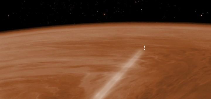 La sond Venus Express entra nell'atmosfera di Venere