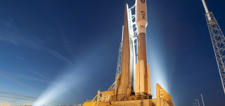 Atlas V. Credits: ULA