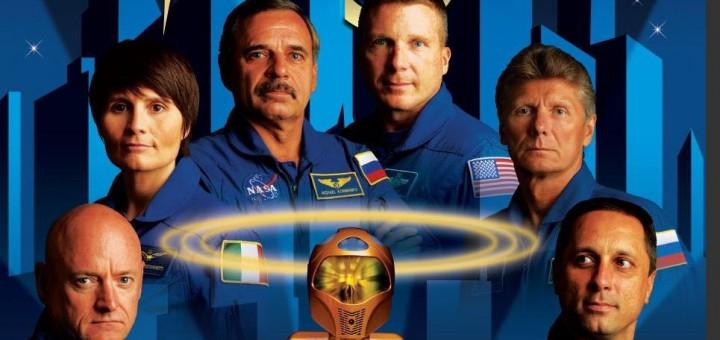Il poster cinematografico della Expedition 43 (dettaglio). Credit: NASA