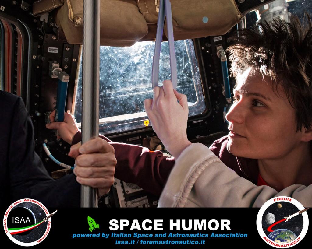 Prossima fermata ISS. Credit: Riccardo Rossi