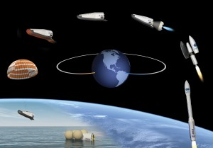 Immagine artistica della missione di IXV