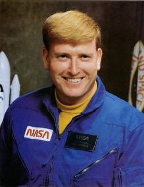 Jon McBride nel 1978. Credit: NASA