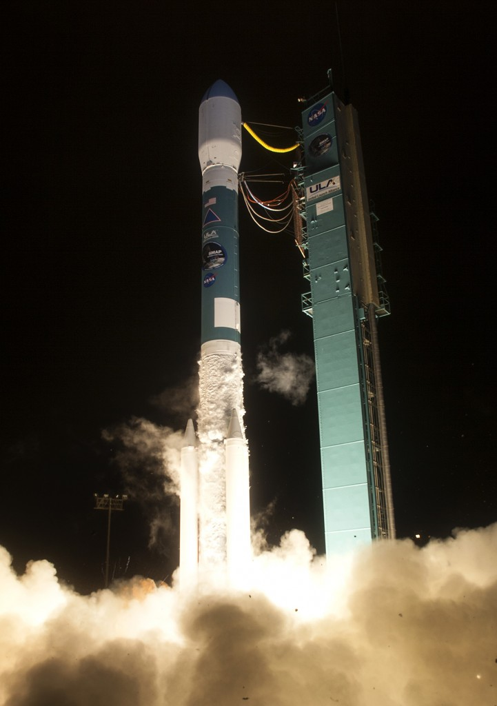 SMAP launch