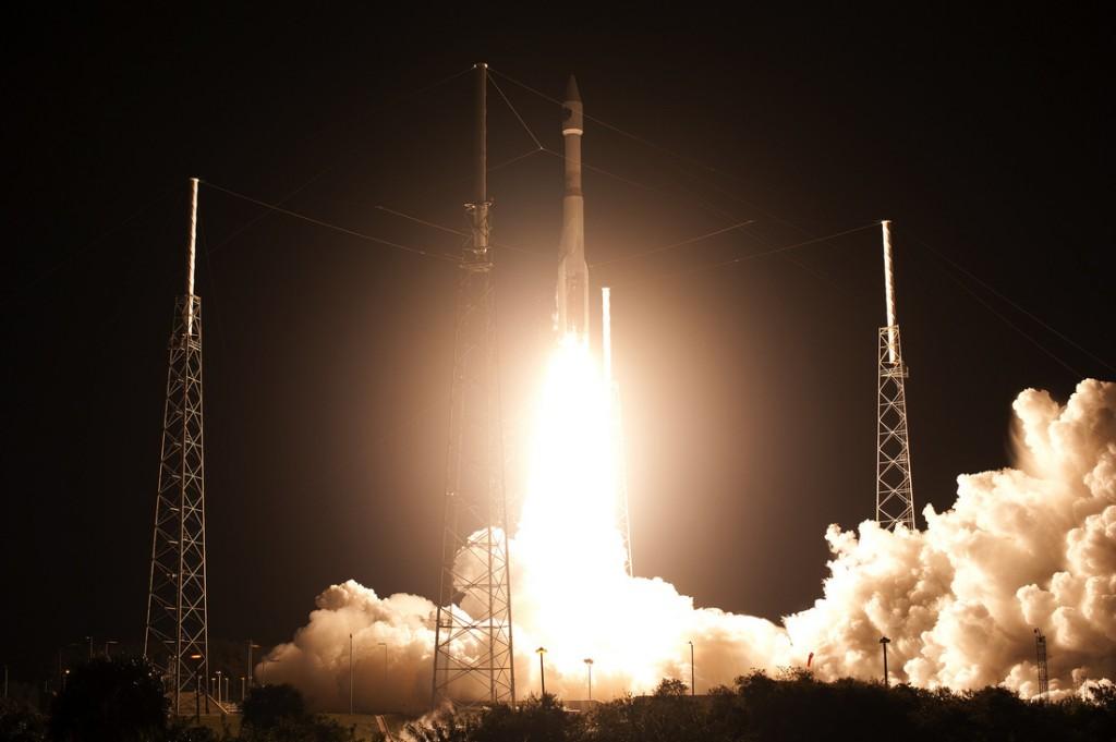 Il lancio dei quattro satelliti MMS con un Atlas V 421.