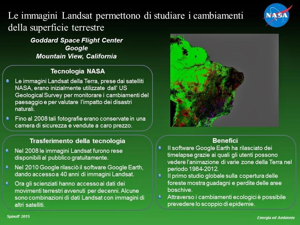 I satelliti Landsat e i cambiamenti della superficie terrestre © NASA / Veronica Remondini