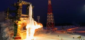 Il lancio del primo Angara A5