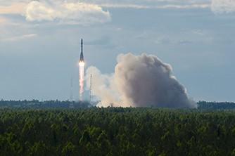 Il lancio del Kobalt-M (credit Ministero Difesa russo)