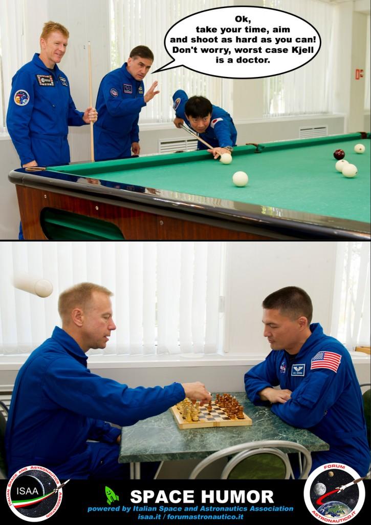 Scherzi da Astronauti. Credit: Riccardo Rossi