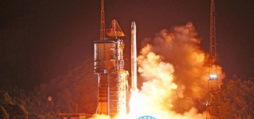 Il lancio di un satellite BeiDou. Credit: BeiDou Navigation Satellite System