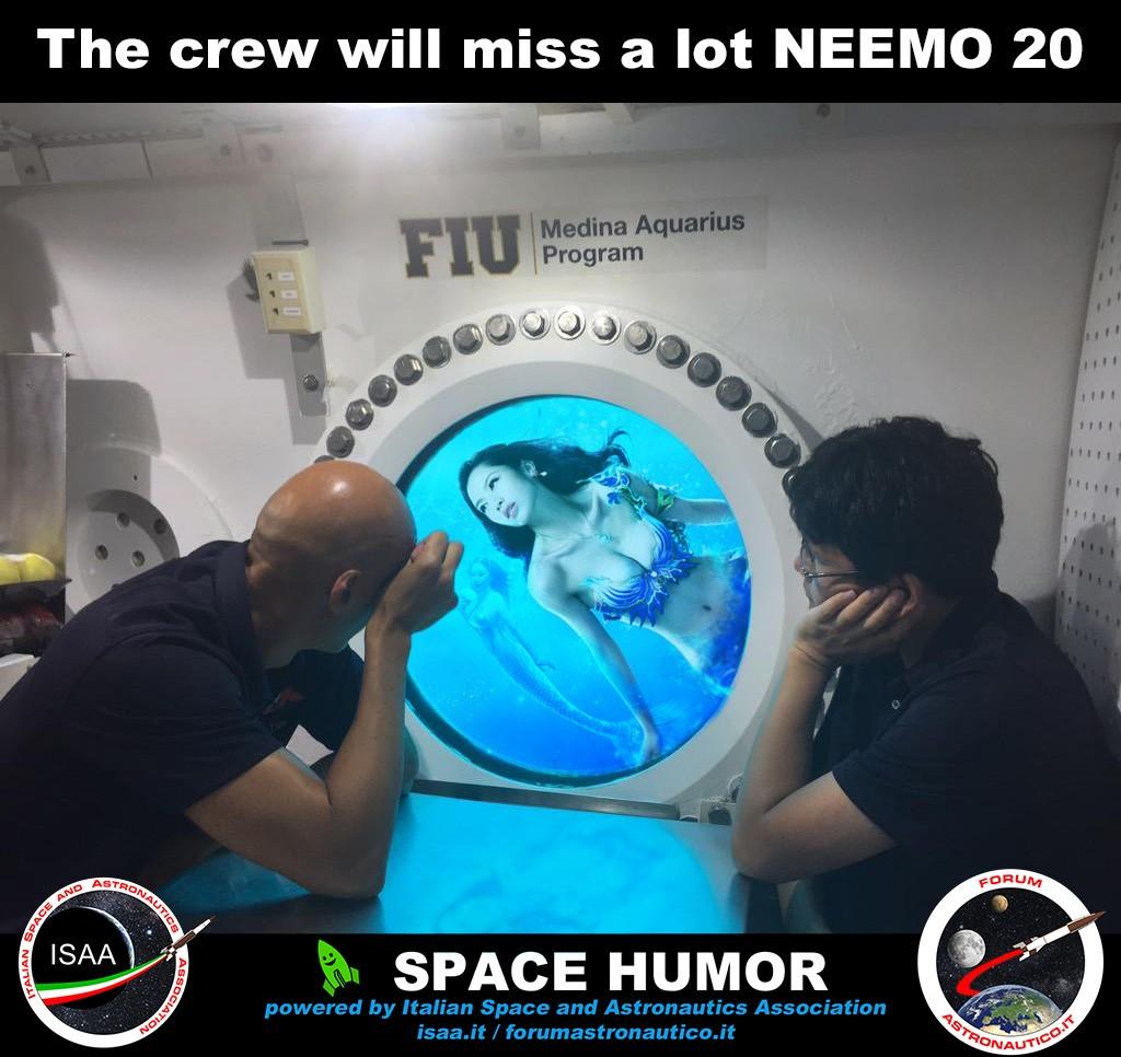 Si conlude NEEMO 20. Credit: Riccardo Rossi