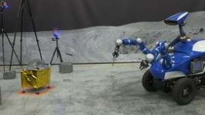 Rover durante l'avvicinamento alla task board