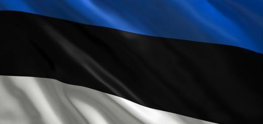 Bandiera dell'Estonia. Credits: fotorecurso.com.