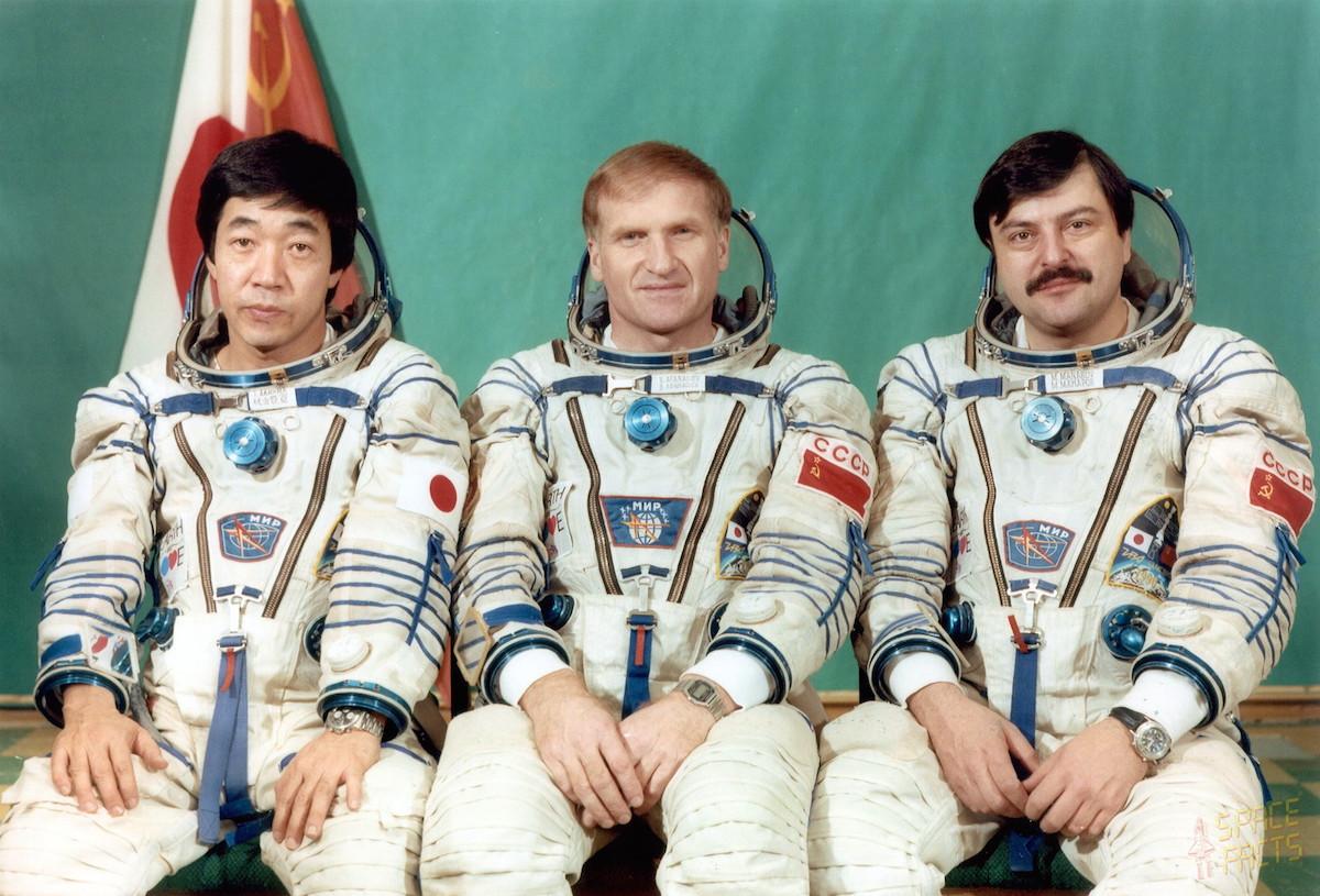 Soyuz TM-11 crew