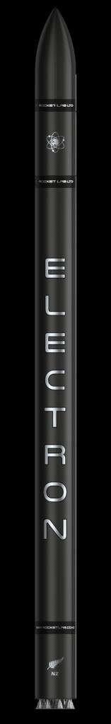 Rendering del razzo Electron Credits: Rocket Lab