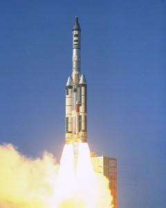 Il lancio della missione OPS 0855