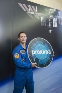 Annuncio di nome e logo missione di Thomas Pesquet © ESA / Stephane Corvaja