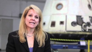 Gwynne Shotwell, Presidente di SpaceX, in un fermo immagine di youtube.