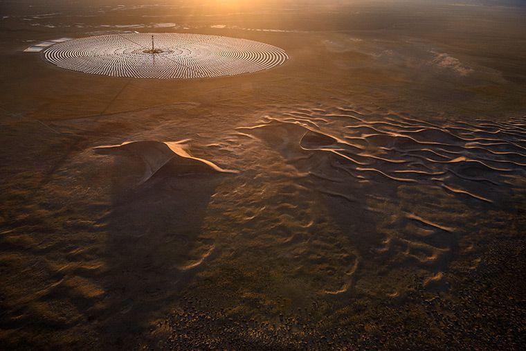 Crescent Dune Solar Energy Plant © SolarReserve