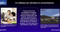 Un software per stimolare la concentrazione © NASA / Veronica Remondini