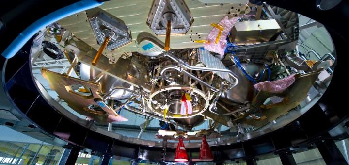 La sezione di propulsione del Orion ESM Structural Test Model Credits: Airbus Defence and Space SAS