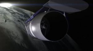 Una raffigurazione del telescopio spaziale WFIRST. Credit: NASA