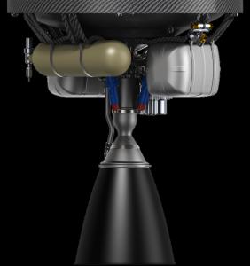 Il Rutherford Vacuum Engine che verrà montato sul secondo stadio dell'Electron.