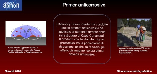 Primer anticorrosivo © NASA / Veronica Remondini