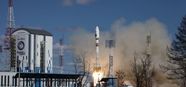 Il Soyuz 2.1a al momento del decollo Credits: Roscosmos