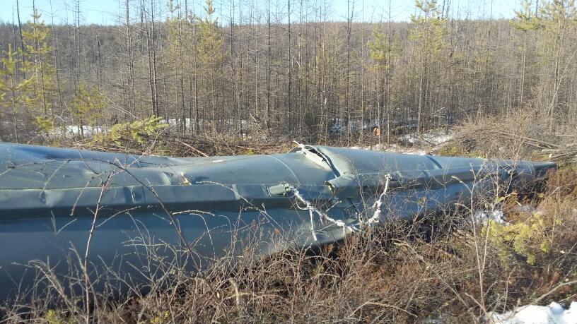 Un booster ancora itero. Credit: Roscosmos