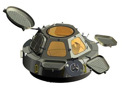 Il modulo Cupola in computergrafica - Credits: ESA / D.Ducros