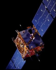 La sonda SMART-1 di ESA Credit: ESA