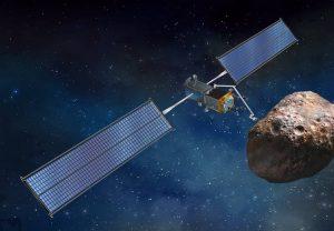 Un concept della missione ARM equipaggiato con i pannelli ROSA