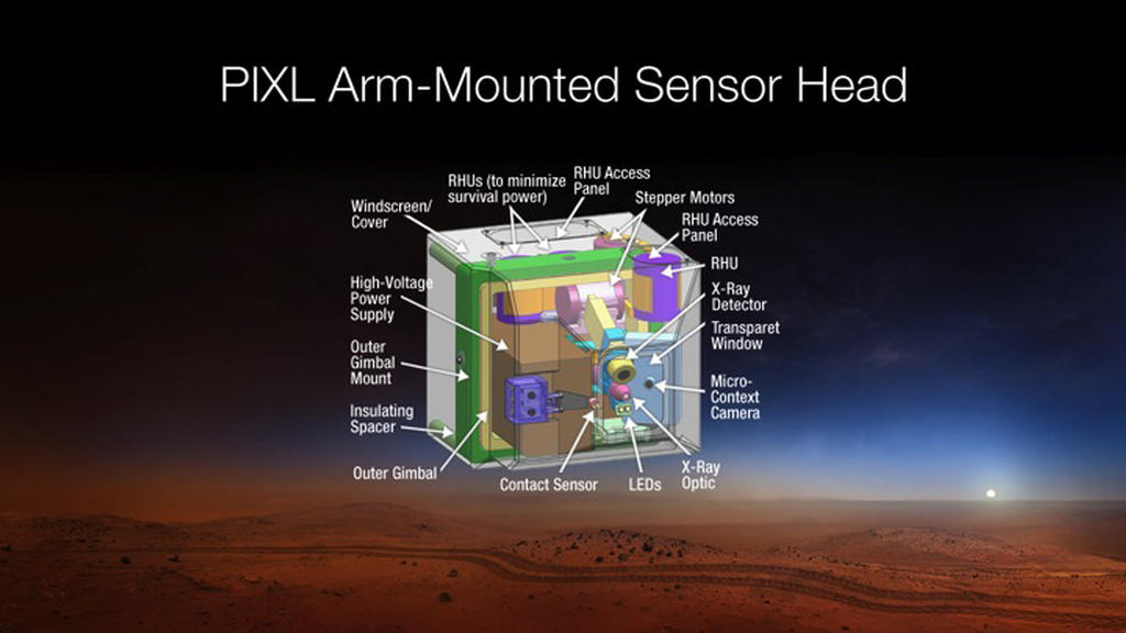 Mars-2020-PIXL-arm-mounted-sensor-head-br2