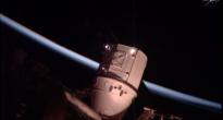Berthing di Dragon durante un'alba orbitale - 20-07-2016 © NASA TV