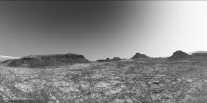 Murray Buttes riprese da Curiosity durante il sol 1414. Credit: NASA/JPL/James Sorenson