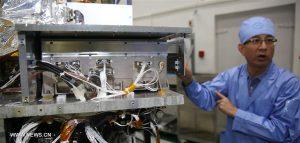 Il generatore di quantum entanglement a bordo di Micius Credits: Xinhua