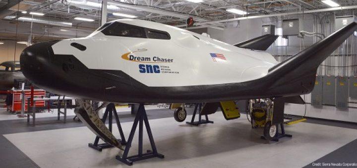 Il prototipo del Dream Chaser pronto per la spedizione. Credits: SNC