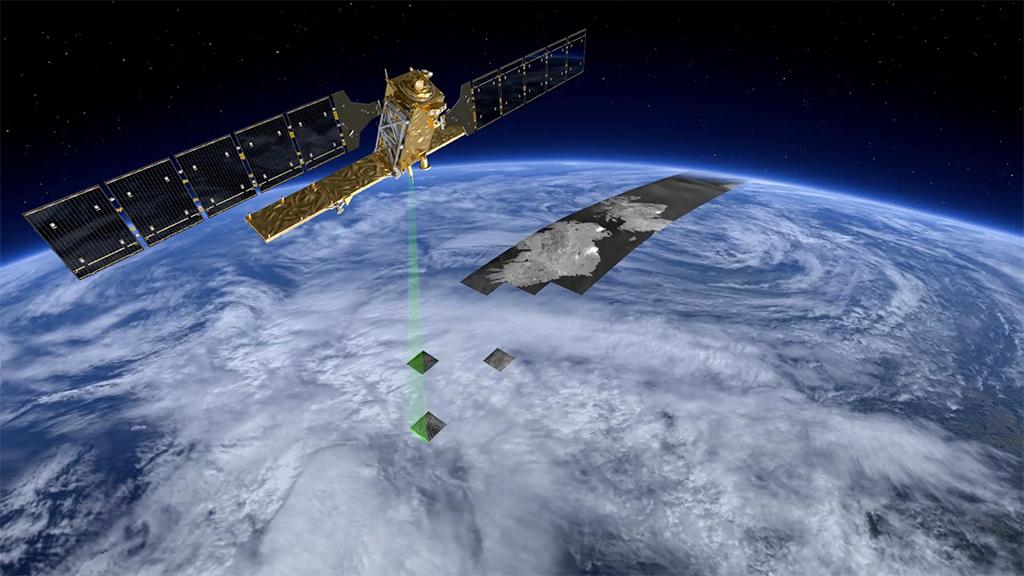 Sentinel 1-A - Credits: ESA/ATG medialab